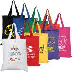 Cotton Short Double Handle Tote Bag