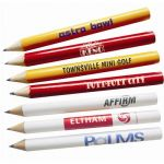 Wooden Golf Half Pencil