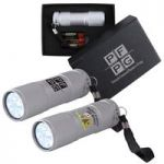 Tube Silver Aluminium LED Torch