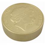 anti stress gold coin