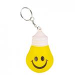 anti stress light bulb keyring