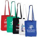 Cotton Double Long Handle Conference Bag