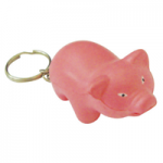 anti stress pig keyring