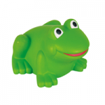anti stress green frog