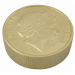 anti stress gold coin