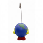 anti stress earth ball note holder