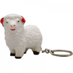 anti stress sheep keyring