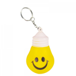 anti stress light bulb keyring