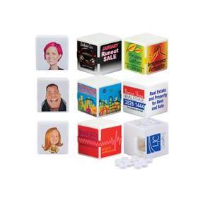 White Cube Breath Mints