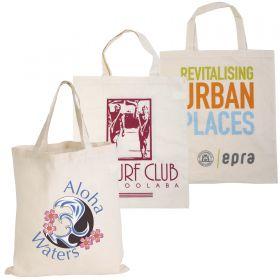 Short  Handle Calico Bags