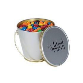 M&M's in Tin Buckets