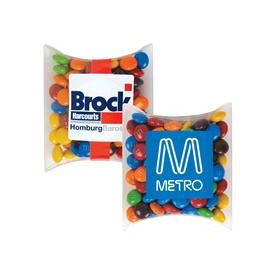 Business Card M&M's in Pillow Packs